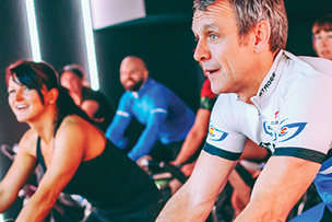 State-of-the-art Group Cycling Classes